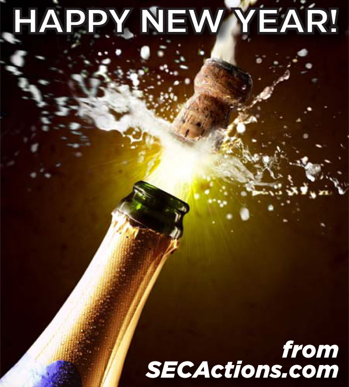 happy new year from secactions