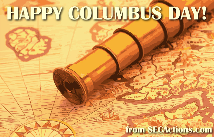 happy columbus day from secactions