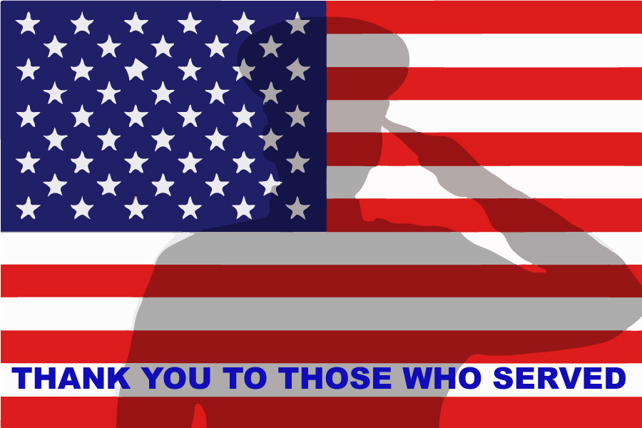 thank you to those who served